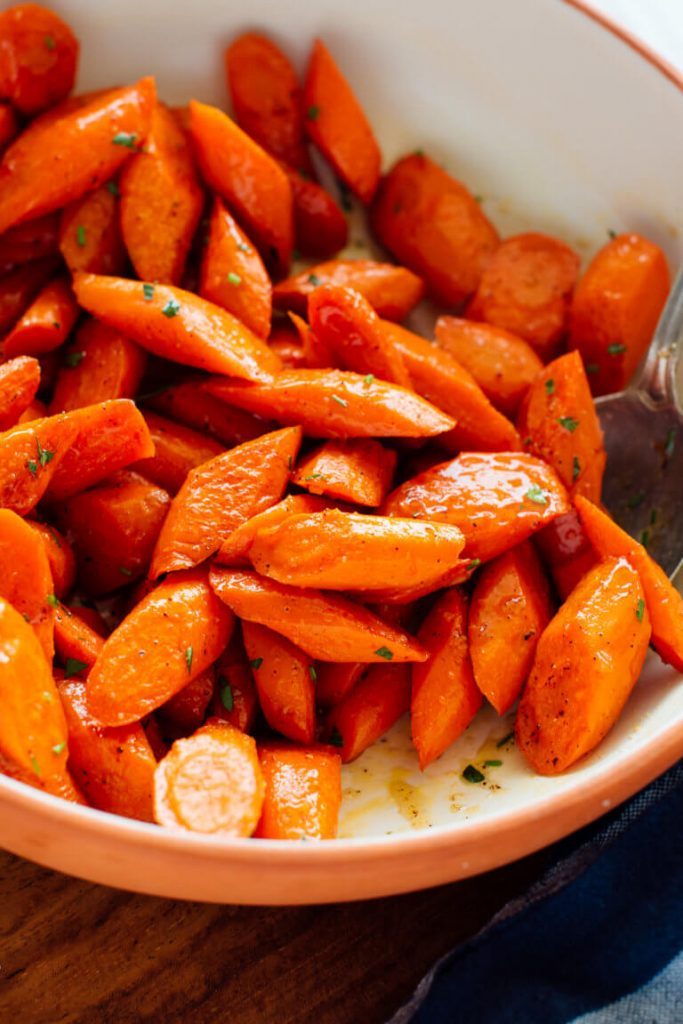 Roasted carrots - photo courtesy of Kathryne Taylor of Cookie + Kate